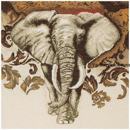 Схемы вышивки слон скачать