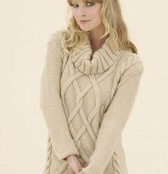 вязание спицами платья и туники модные вязаные туники спицами