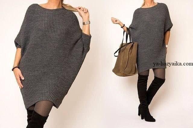 Платье резинка вязание спицами