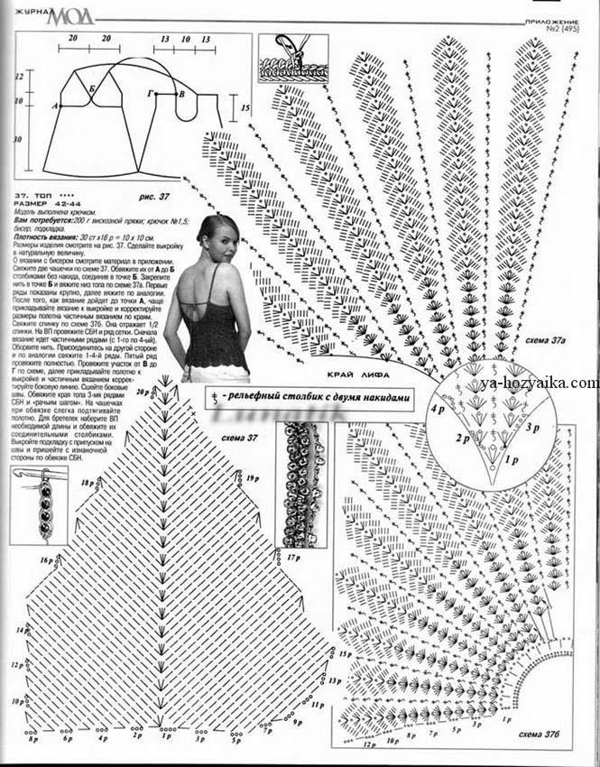 Схема вязаное платье 2017-2018