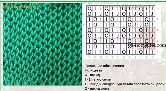 Вязание спицами рисунок соты описание 17