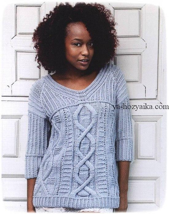 пуловер, схемы, бесплатно, 2019, спицами