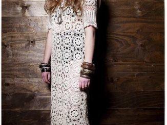 платье ,схема, бохо, мотив