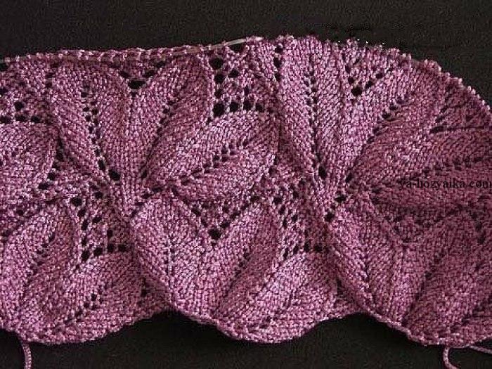 вязания узор ажурные для кофточки