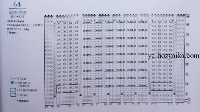 арановые узоры спицами схемы узоры спицами из японской книги