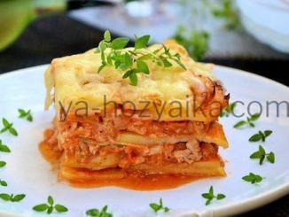 Мусака с картофелем рецепт