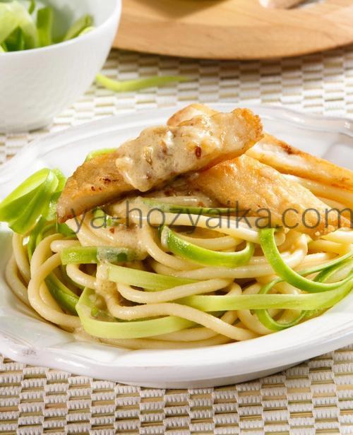 спагетти с рыбой по итальянски