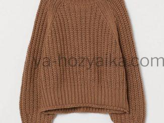 Модный свитер h&m 2020